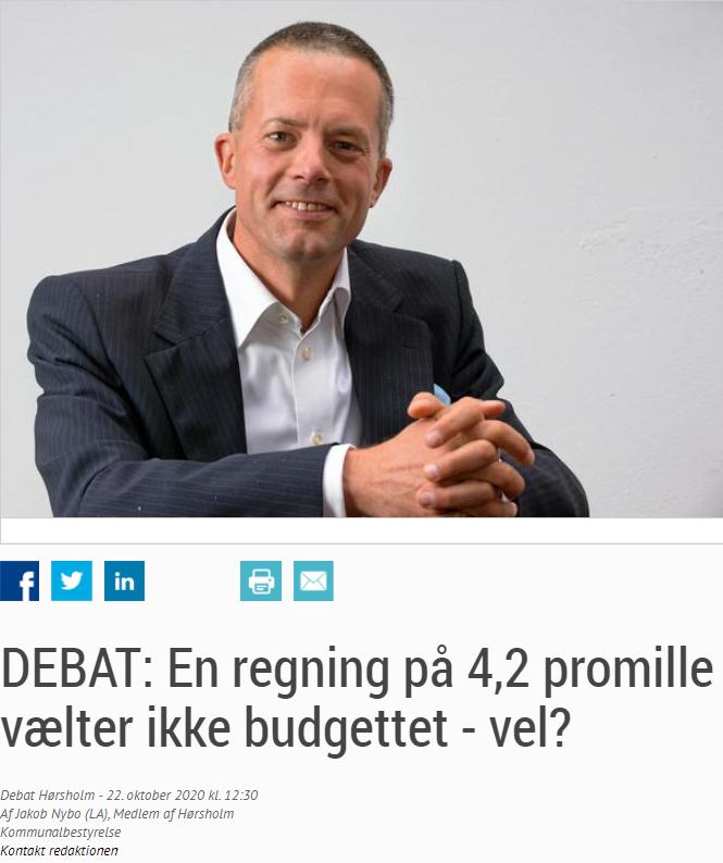Liberal Alliance Hørsholm - Jakob 4.2 promille