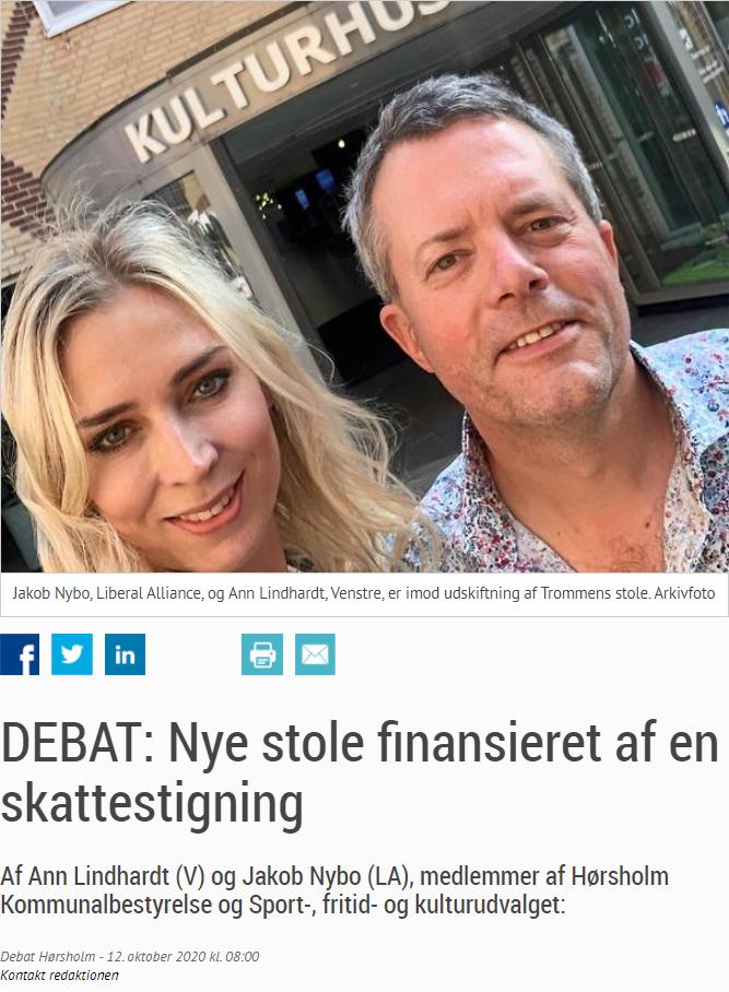 Liberal Alliance Hørsholm - Jakob og Ann